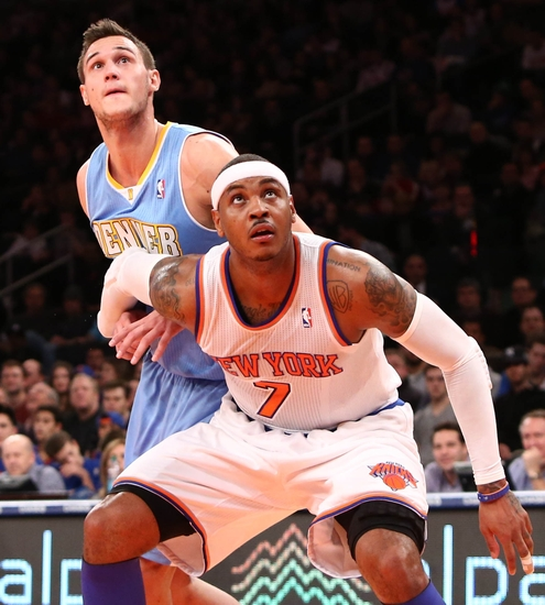 Gallinari Torched The Knicks In The Mecca Of Basketball