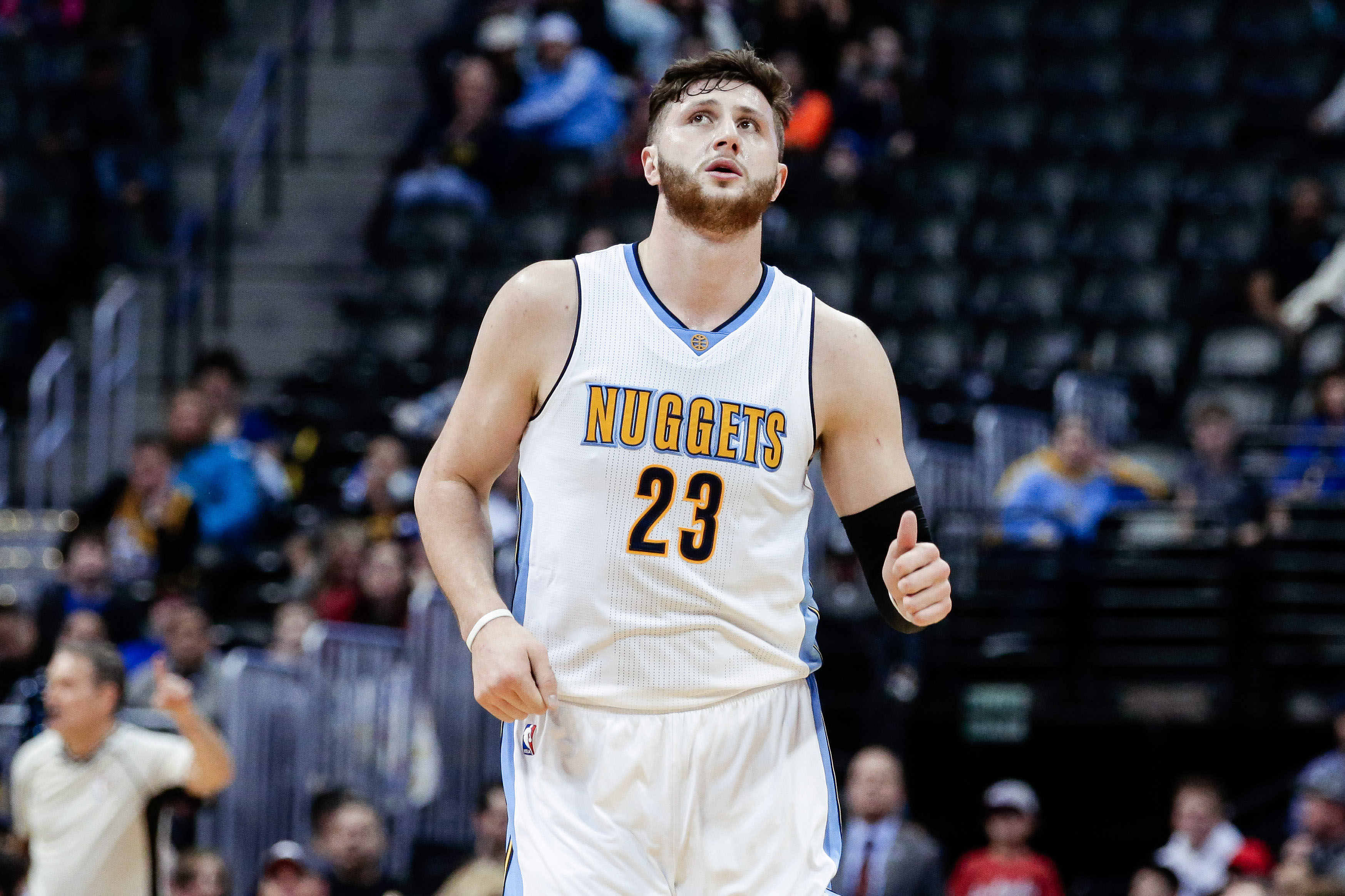 Jusuf Nurkic could earn some value for Denver in a trade. 169254a9f