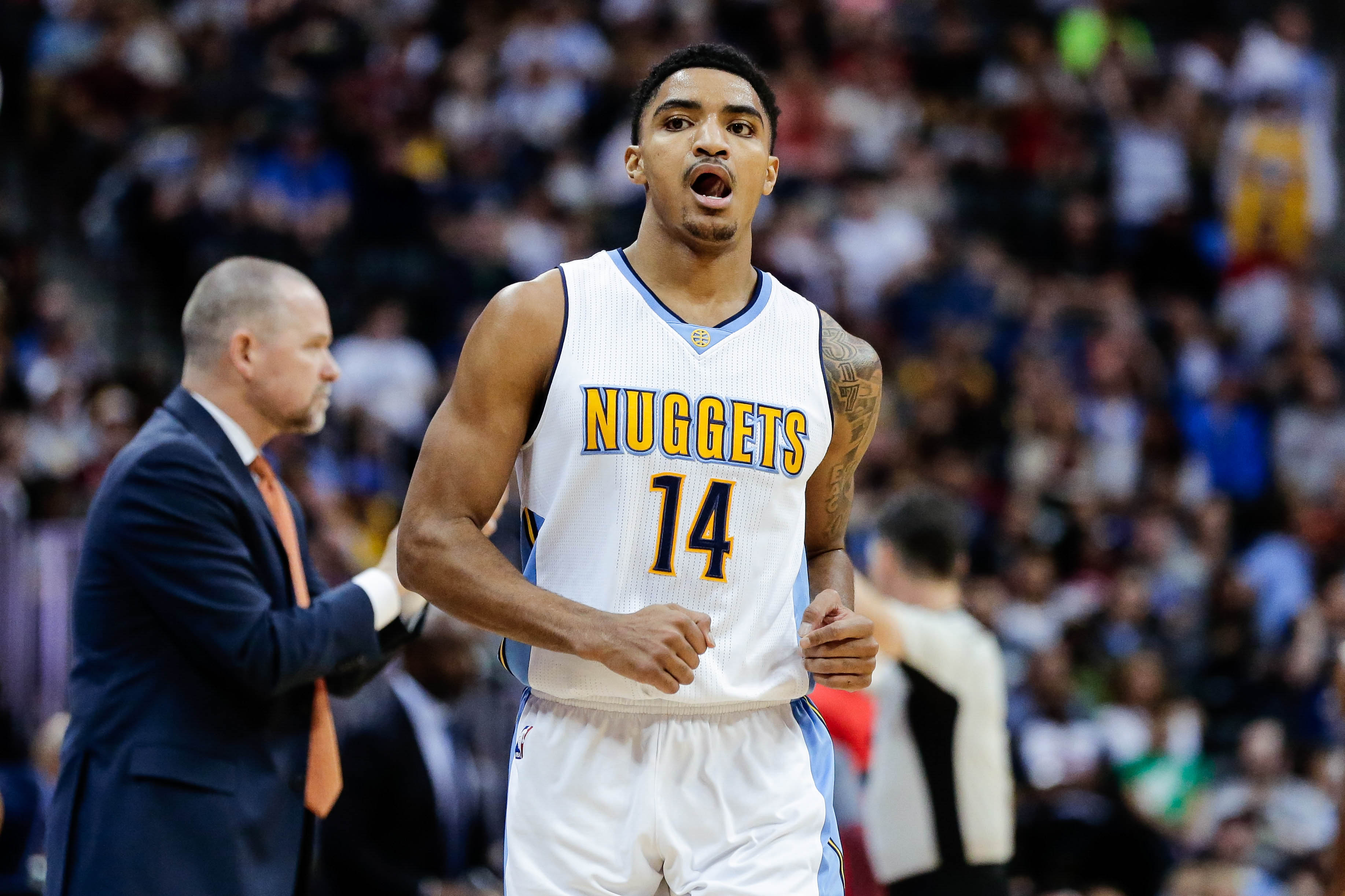 Image result for gary harris nuggets usa today